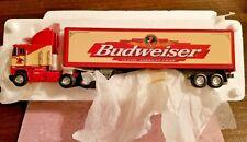 """Matchbox Collectibles Spirit Of Budweiser 18-Wheeler 11"""" x 3"""" Diecast COA 1998"""