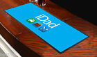 iDad BLU BAR RUNNER ideale per casa cocktail party pub birra Tappetino OCCASIONE