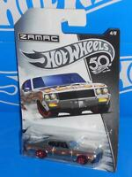 Hot Wheels 2018 50th Anniversary Wal-Mart ZAMAC Series #4 '70 Buick GSX
