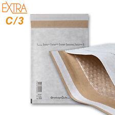 50 Enveloppes à bulles rigides EXTRA taille C/3 format 150x215mm