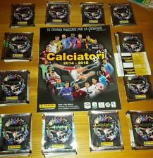 ALBUM CALCIATORI PANINI 2014 2015 14 15 + BOX 100 BUSTINE ARGENTO 600 FIGURINE