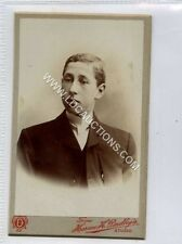 (Ga2267-461) Real Photo CDV by Horace H.Dudley of West Bromwich c1890 EX Male