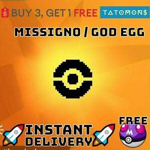 MISSINGNO / God egg for x999 items pokemon sword and shield clone read desc