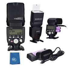 YONGNUO YN560Li-Kit Lithum Battery GN58 2.4G Flash Fits Canon Nikon Olympus Sony