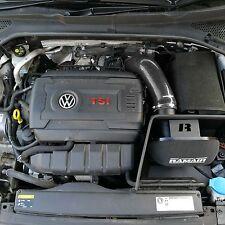 Negro Kit De Admisión De Inducción Ramair Filtro De Aire Para VW Golf mk7 2.0 TSI GTI MQB