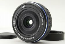 【Near MINT】Olympus M.Zuiko17mm f/2.8 Micro Lens 4/3 Black from Japan 610