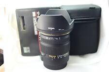 Objetivo Canon Sigma Zoom 17-50mm 1:2.8 EX DC OS HSM lente lens