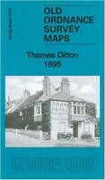 Thames Ditton 1895: Surrey Sheet 12.07 (Old Ordnance Survey Maps of Surrey) by G