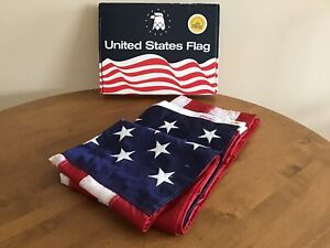 Valley Forge US American Flag 3 x 5 ft 100% Nylon Premium Quality USA