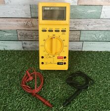 Fluke 27 Handheld Digital Multimeter 10A 1000V Red Black Probes Tested & Working