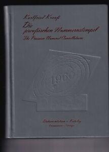 Karlfried Krauß Die preußischen Nummernstempel wichtiger Katalog stampsdealer