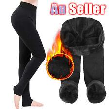 Women Winter Warm Fleece Pants Skinny Trousers Pants Fitness Leggings Stretch