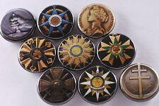 Magnet Lot Set of 9 France French Medal Order Cross War Resistance WW2 Labor