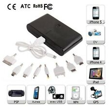 External Power Bank Battery Charger 20000 mAh Portable For iphone 4/5 Samsung