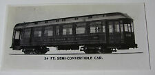 USA646 - CITY & ELM GROVE RAILROAD Co Railway TROLLEY No56 PHOTO West Virginia