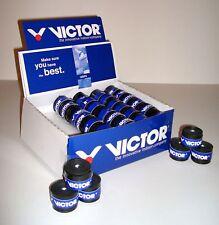 6 x Griffband Victor Overgrip Pro Griffbänder, SCHWARZ