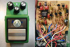 Ibanez TS9 TS808 Brown Mod TRUE BYPASS w/ Silver Option