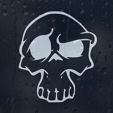 Cráneo Cabeza coche portátil teléfono calcomanía pegatina de vinilo Tallas Disponibles De 5x5 - 60x60