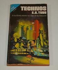Vintage Ace Double SCIFI Novel EC TUBB Scatter of Stardust * Technos