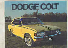 1973 Dodge Colt Brochure Canada my3246