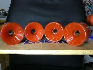 Powerflex 5 Skateboard Wheels NOS 70s Vintage Fibreflex Gullwing Kryptonic Sims