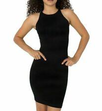 American Apparel Womens Dress Black Size Medium M Sheath Tank High Neck $38 680