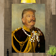 Donald Trump Framed Canvas Wall Art Picture Print Ready To Hang