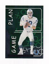 1999 Leaf Rookies & Stars GAME PLAN #GP-16 Peyton Manning #2014/2500! SCARCE!