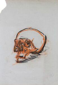 Markus Lüpertz (*1941), Memento Mori - Skull 2, 2016