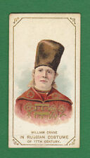 W. DUKE & SONS LTD. - VERY RARE ACTOR CARD -  WILLIAM  CRANE  -  1889