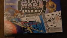 Star Wars A New Hope Sand Art Kit Children Age 4 and Up New Factory Sealed Box