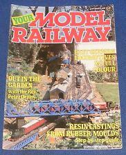 YOUR MODEL RAILWAY  SEPTEMBER 1986 - EAST GRINSTEAD SIGNAL BOX