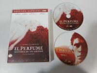 EL PERFUME HISTORIA DE UN ASESINO EDICION ESPECIAL 2 X DVD ESPAÑOL ENGLISH