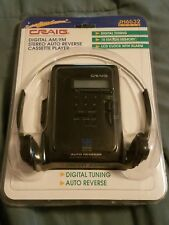 New In Package Craig Vtg super bass system,am/fm cassette portable player Jh6532
