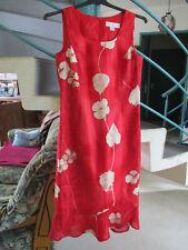 robe rouge Taille 36 Marque un jour Ailleurs Femme occasion