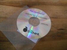 CD POP Cinematics-Love and terreur (1 chanson) PROMO Orchard DISC ONLY