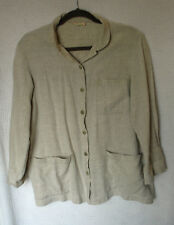 Bonnie Strauss  3/4 Sleeve Button Front Blouse Size XL