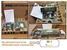 New in box Genuine Dell PR03X USB 3.0 E-Port Replicator Dell Docking Station.