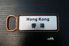 Hong Kong Tourist Travel Souvenir Metal Fridge Magnet Craft Beer Bottle Opener