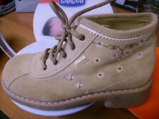 Scarpe shoes  bambina CHICCO NR. 32 invernali beige pelle NUOVE!