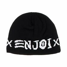 Enjoi Black Mens Skate & Enjoi Beanie Winter Hat One Size NWT