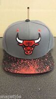 New Mitchell & Ness NBA Snapback Hat - Chicago Bulls Splatter