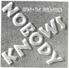 "Mike + The Mechanics - Nobody Knows - Promo - 7"" Vinyl Record Single"