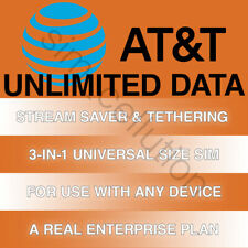At&T Unlimited Data 4G Lte for Wi-Fi Devices   Stream Saver & Tethering Features