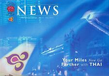 Thai Airways Royal Orchid Brochure March 2001 =