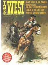 The West Jan.1966 Rudolph Kurz Artist Jacques Laramee Mennonites Nevada Woolsey
