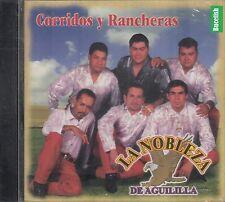 La Nobleza De Aguililla Corridos Y Rancheras CD New
