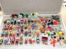 Playmobil-40 Figures-Pirates-Knights-Horses-Weapons-Accessories Lot P4