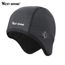 Cycling Fleece Winter Windproof Bike Hat Cap Thermal Helmet Liner Men Women