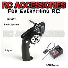 2.4GHZ Transmitter & Receiver TX RX Combo Pistol Grip Radio System Like Futaba !